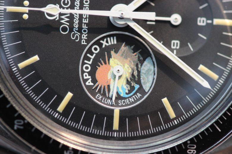 オメガ アポロ13 時計 エンブレム