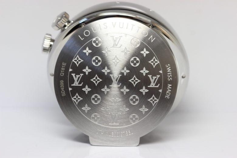 タンブール 置き時計 q181e 裏蓋