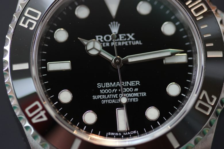 ロレックス 114060 文字盤