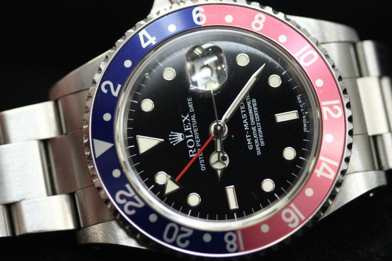ROLEX GMTマスター 16700 赤×青