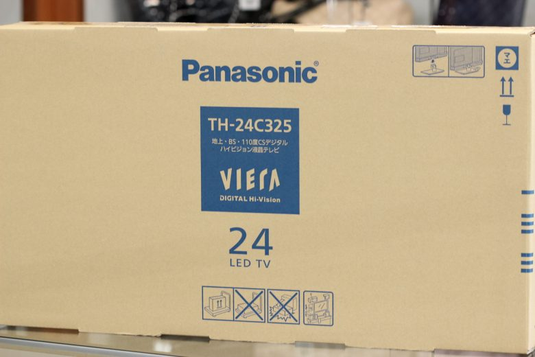 パナソニック24インチ液晶テレビ