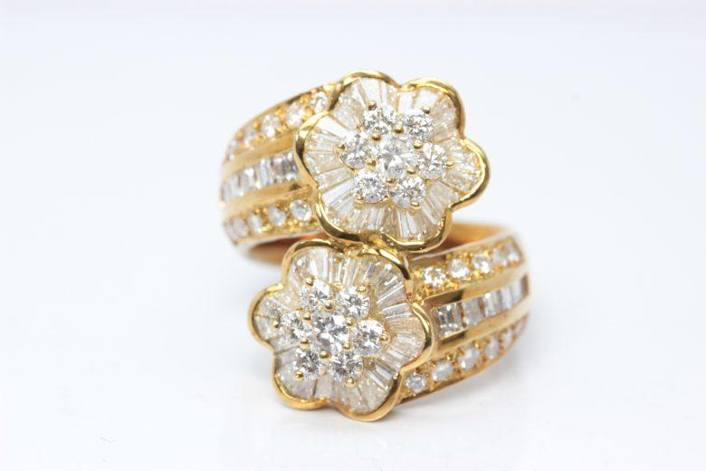 K18 yg ring