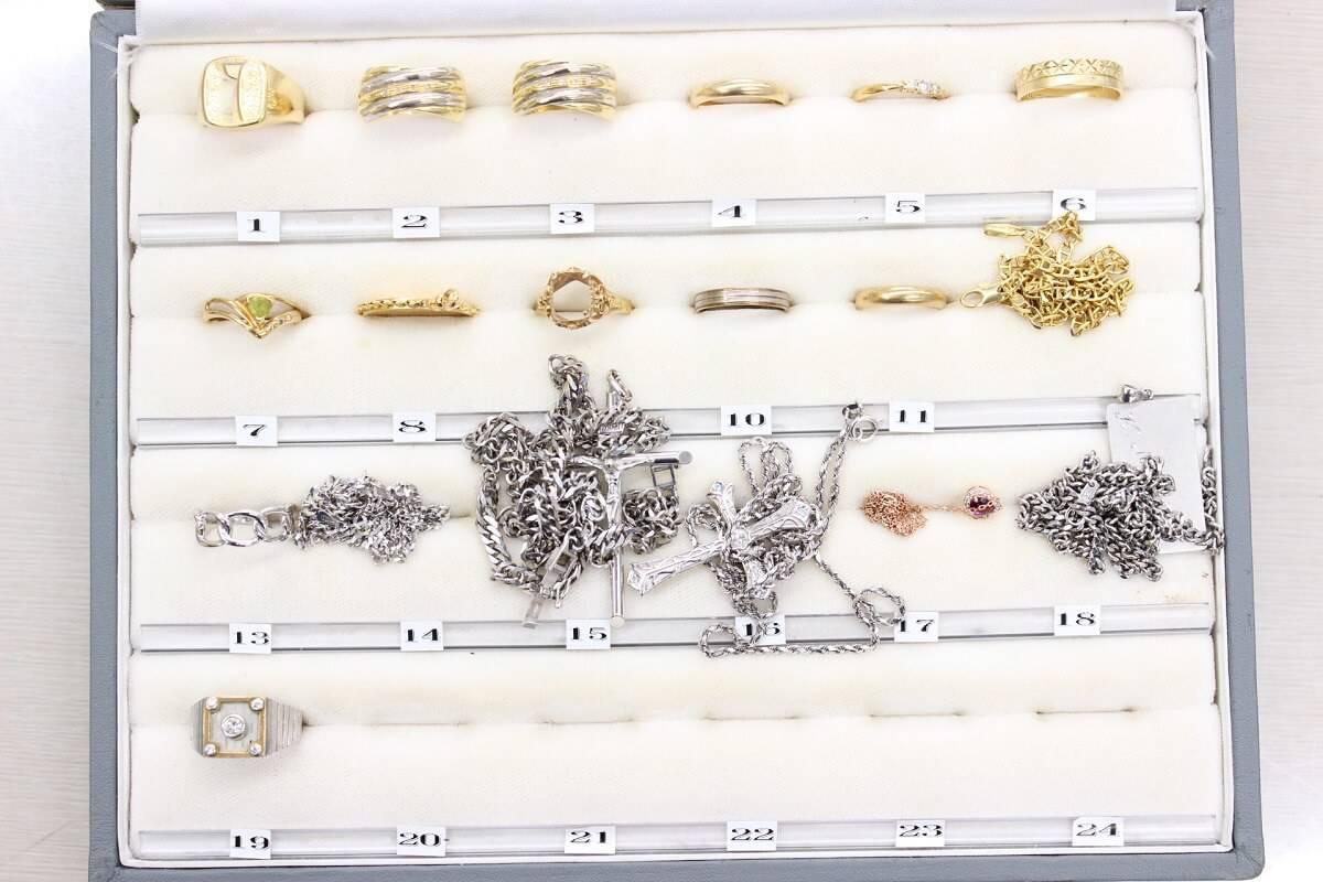 goldplatinum-ring-necklace